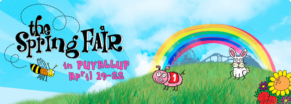 Puyallup Spring Fair 2012 is THIS WEEKEND!